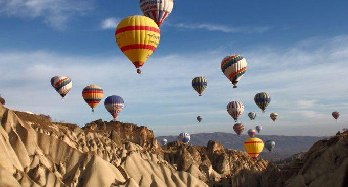 Lua de mel na Turquia e passeio de balão na Capadócia