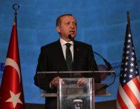 Líder da Turquia diz que visita aos EUA irá significar recomeço do relacionamento