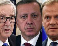 Erdogan se encontrará com Juncker e Tusk