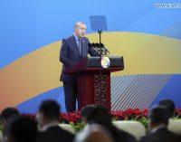 Erdogan destaca lugar especial da Turquia como ponte entre Europa e Ásia