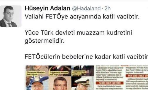 Jornalista pró-governo diz que matar os seguidores de Gulen, até suas crianças, é uma obrigação religiosa