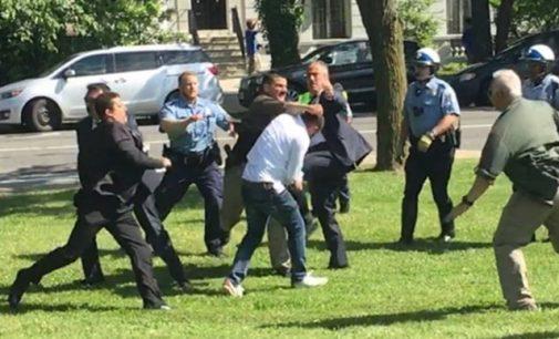 EUA expressam preocupação com violência durante visita do presidente turco a Washington