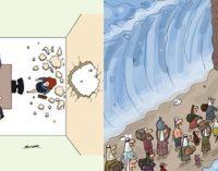 Cartunista de Itu é premiado na Turquia