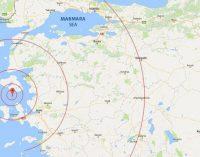 Um terremoto de magnitude 6,2 atinge a região do Egeu da Turquia.