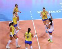 Tandara brilha no tie-break, e Brasil vence Turquia em jogo equilibrado no Grand Prix