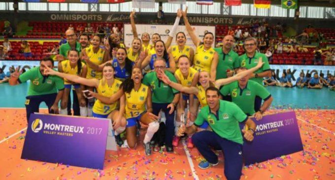 Seleção Brasileira faz primeiro treino na Turquia