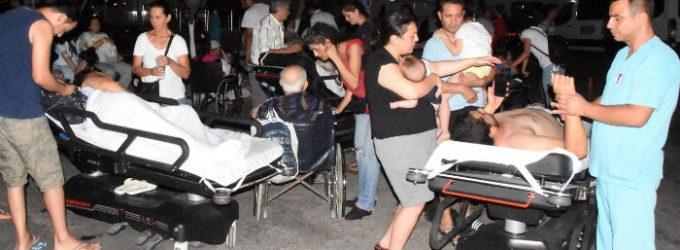 Forte terremoto atinge costa do Egeu, 2 mortos