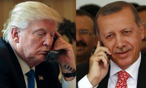 Erdogan diz que Trump ligou para pedir desculpas pelos guardas turcos