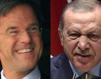 Erdoğan diz que Primeiro-Ministro holandês não pode mais olhá-lo na cara