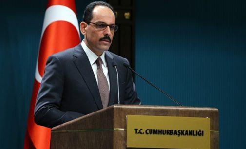 Kalın diz que a Turquia não hesitaria em realizar uma operação militar na Síria