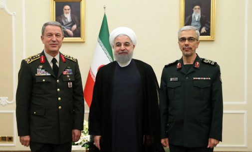 Comandantes turco e iraniano concordam em uma cooperação militar contra ameaças