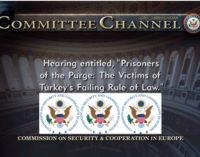 Comissão dos EUA discute a repressão do governo turco contra a dissidência e cidadãos americanos