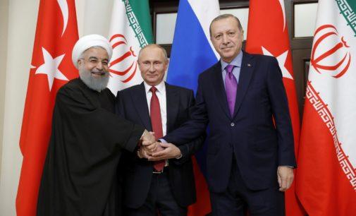 Putin diz que vê oportunidade para fim do conflito na Síria em cúpula com Turquia e Irã