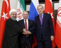 Turquia pressiona Rússia e Irã sobre conflito sírio