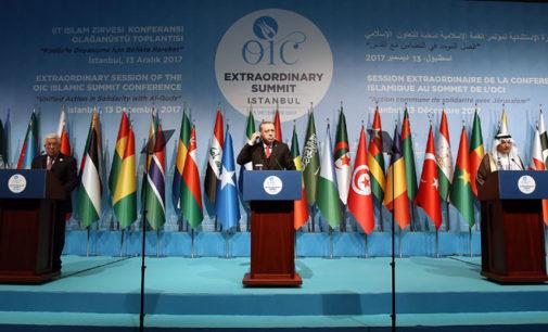 Erdogan na reunião da OCI: Washington não é mais mediadora no conflito Israel x Palestina