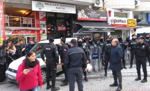 Polícia invade escritório regional do HDP, detém copresidente