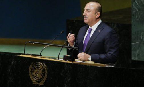Turquia nunca desapontará Jerusalém, diz ministro em discurso na ONU
