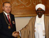 Erdogan diz que riu da exigência de extradição da CPI para al-Bashir