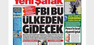 Jornal pró-Erdogan: Turquia poderia expulsar agentes do FBI