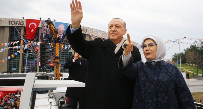 Erdogan ameaça o HDP devido a Afrin: Qualquer um que se opuser a nós será esmagado