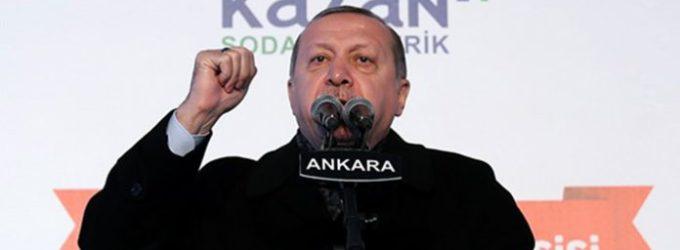 Erdogan jura 'estrangular' a força estabelecida pelos EUA na fronteira da Síria