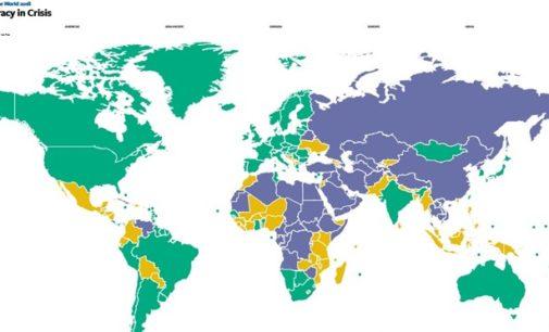 Turquia cai para Não Livre em relatório ' Liberdade no Mundo 2018 '