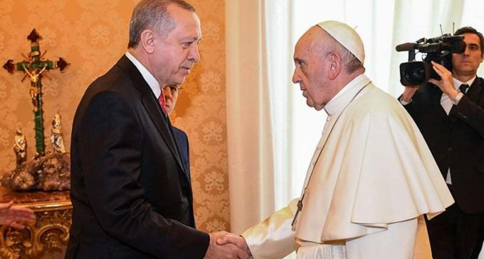 O Encontro do Papa Francisco com Recep Tayyip Erdoğan