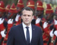 Macron condena responsabilidade criminosa da Turquia na Líbia