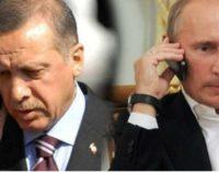 Putin e Erdogan concordam em impulsionar cooperação militar-inteligência depois do abatimento do Su-25