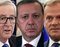 Parlamento Europeu pede aos líderes europeus que pressionem Erdogan