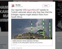 Turcos na África do Sul temem remoção à força pelo governo de Erdoğan