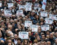 Milhares de partidários do CHP realizam protesto em Taksim contra o estado de emergência – OHAL
