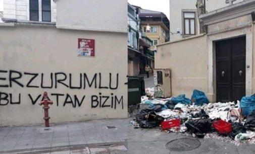 Igreja armênia em Istambul vandalizada por nacionalistas