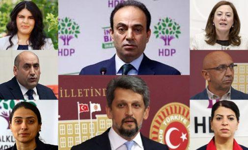 """Moções apresentadas contra 8 deputados do HDP por """"propaganda terrorista"""""""