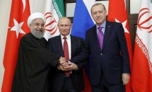 """Encontro de Turquia, Rússia e Irã pode consolidar """"oposição direta"""" a Israel e EUA"""