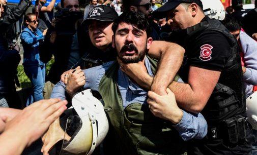 84 pessoas detidas durante celebrações do 1º de Maio em Istambul