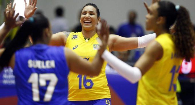 Brasil bate Turquia e chega à terceira vitória seguida na Liga das Nações