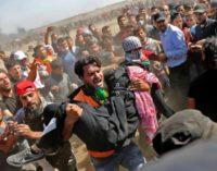 Tropas israelenses matam dezenas de palestinos durante abertura da Embaixada Americana em Jerusalém