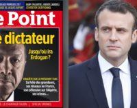 Macron rechaça remoção dos cartazes da Le Point sobre Erdogan