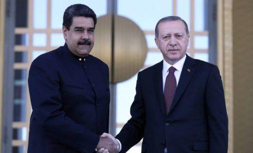 Erdogan diz ter 'fé' na reeleição de Maduro na Venezuela