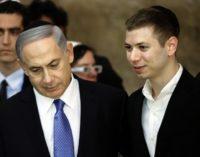'F*da-se a Turquia', posta o filho de Netanyahu no Instagram