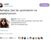 Tradutora turca indiciada por traduções de fontes de notícias em inglês