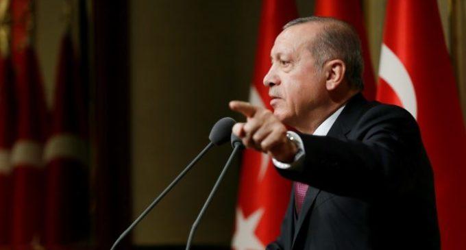 """Erdoğan: """"Vamos acabar com atacadistas como acabamos com os terroristas"""""""