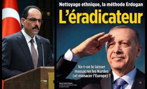 Assessor de Erdoğan critica revista francesa por chamar presidente turco de 'O erradicador'