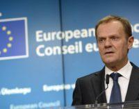 """Chefe do Conselho da UE: suspensão das operações da Turquia """" não é um cessar-fogo """""""