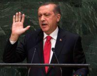 Erdogan diz que a Turquia tem o direito de matar pessoas no exterior que ameacem a segurança nacional