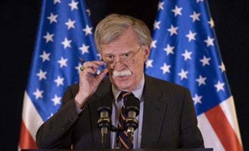 Trump estava concedendo favores pessoais a Erdoğan, diz John Bolton