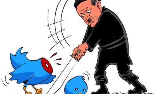 """""""Mídias sociais são um lixão"""", diz Erdogan"""