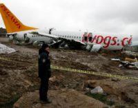 Atenção concentra-se na causa do acidente de avião em Istambul