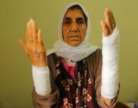 Mãe idosa de político curdo é ferida durante batida policial em casa